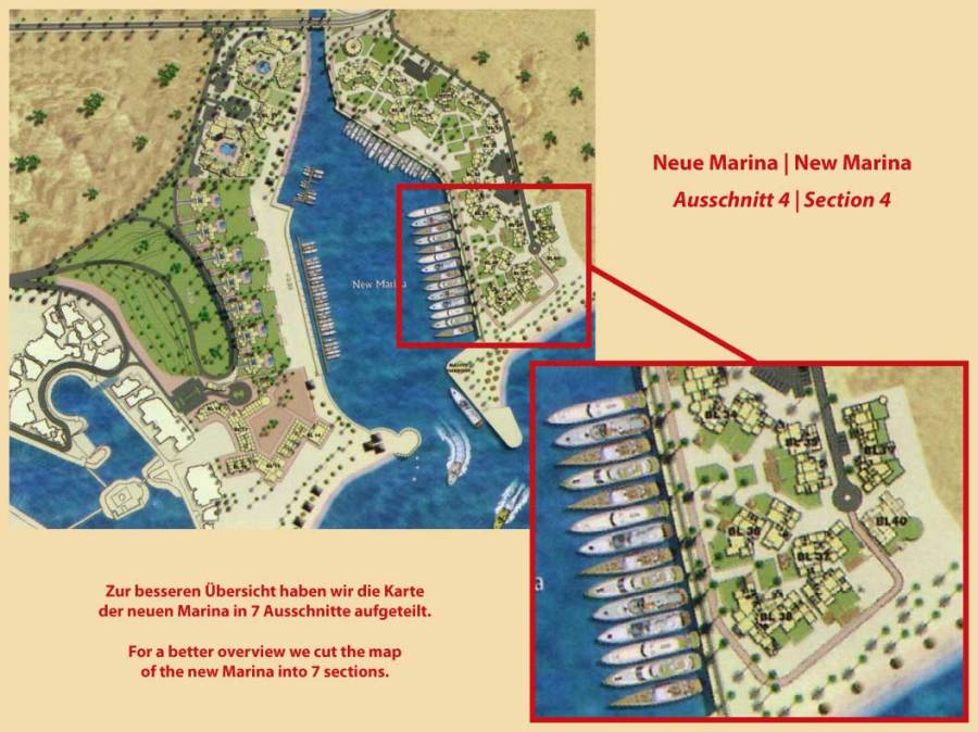 New Marina Map Section 4