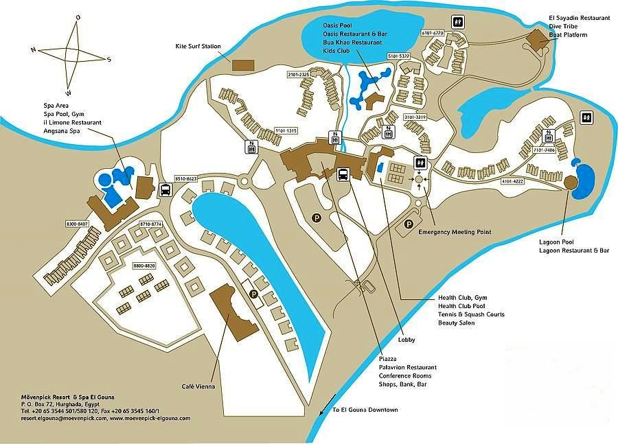 Moevenpick Resort & Spa Plan